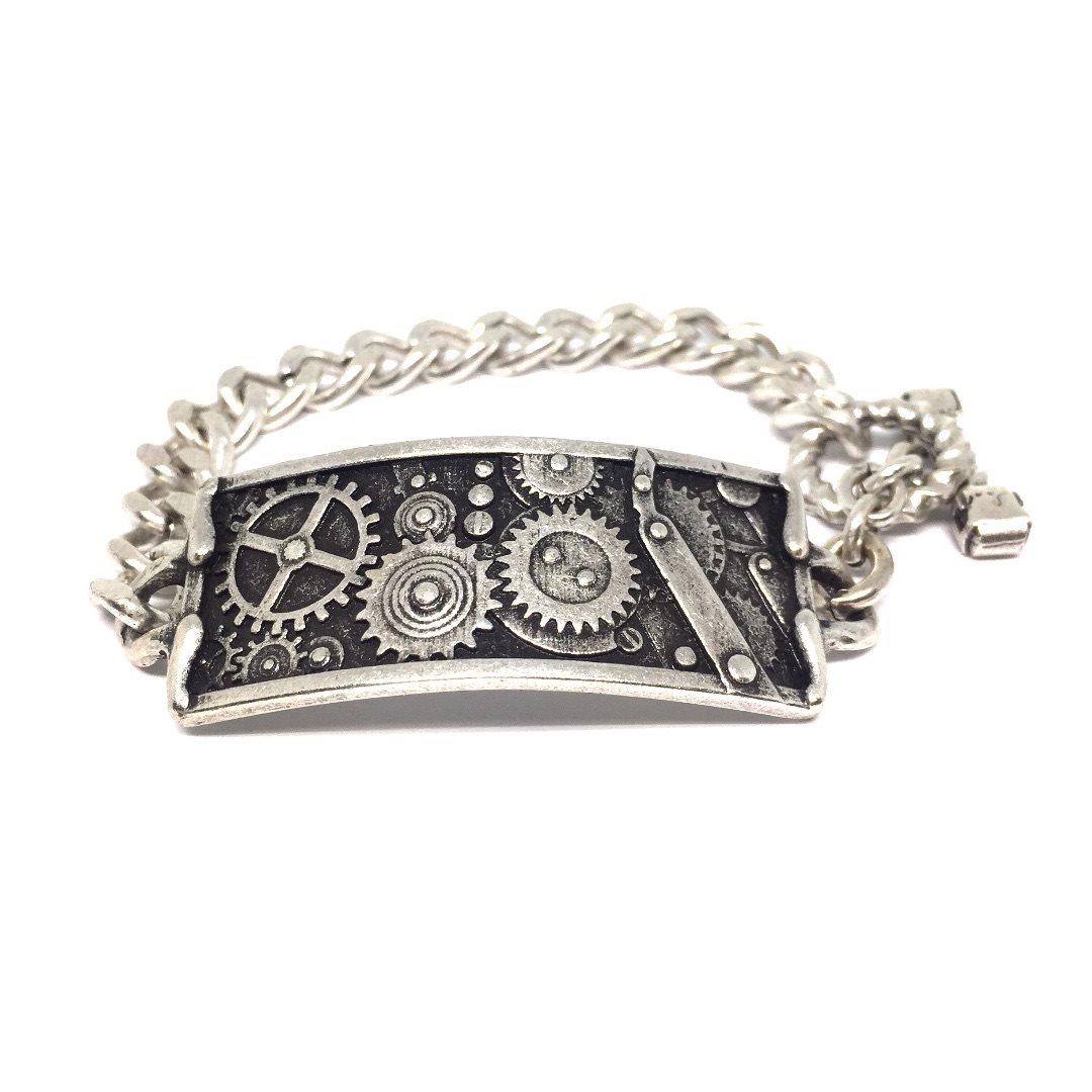 Bracelet38 Bracciale Ingranaggi