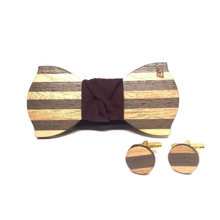 Papillon in legno Gigetto1910 Dandy 1