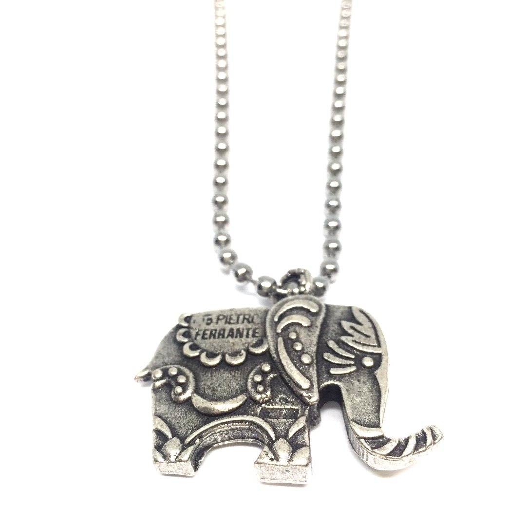Necklace05 Collana Elefante