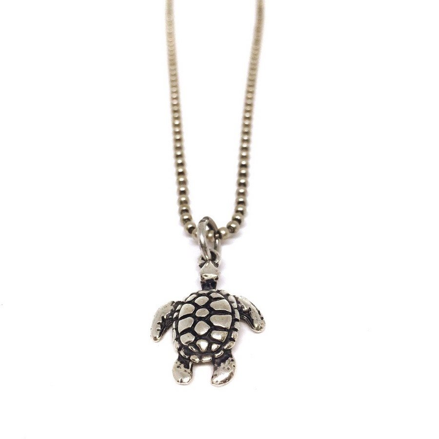 photo Necklace 68 Collana Turtle