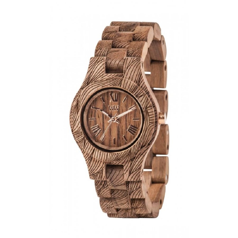 photo CRISS WAVES NUT ROUGH Orologio in legno