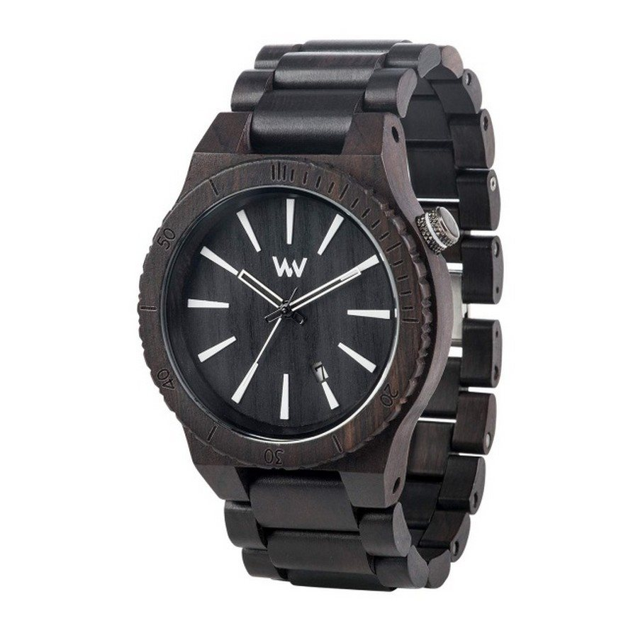 photo ASSUNT BLACK Orologio in legno