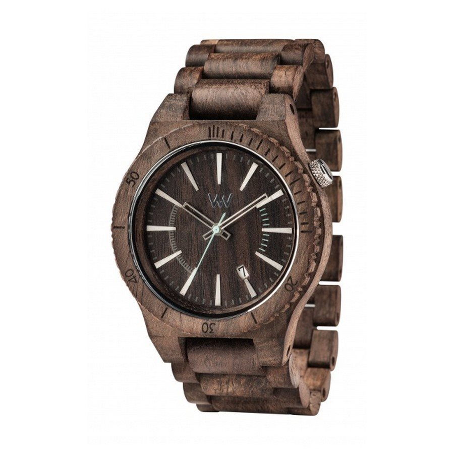 ASSUNT WAVES NUT ROUGH Orologio in legno