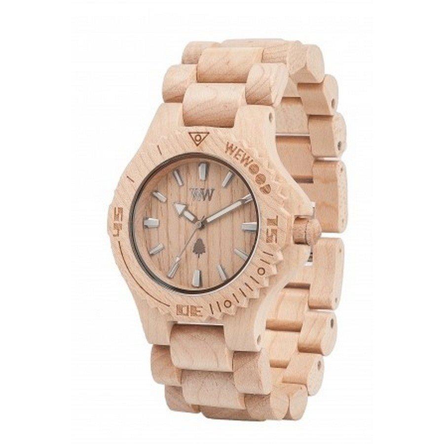 DATE BEIGE Orologio in legno