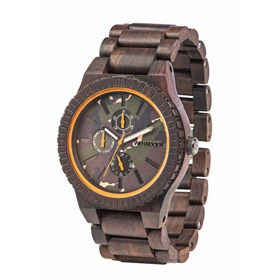 photo KOS CHOCO CAMO Orologio in legno
