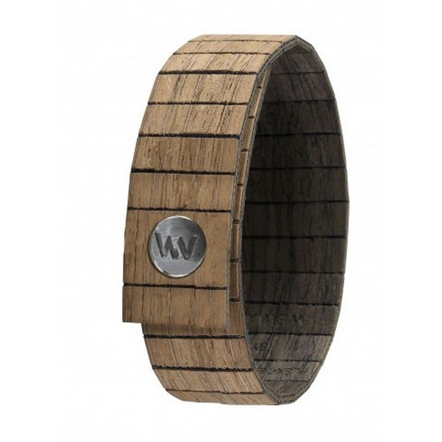 photo Bracciale in legno AURA NUT BLACK GUN