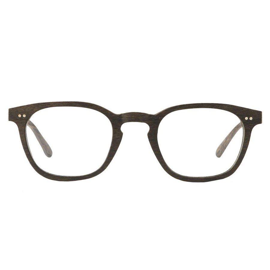Occhiali in legno da vista DYLAN WENGE/MAT SILVER
