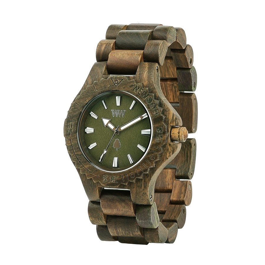 photo DATE ARMY Orologio in legno
