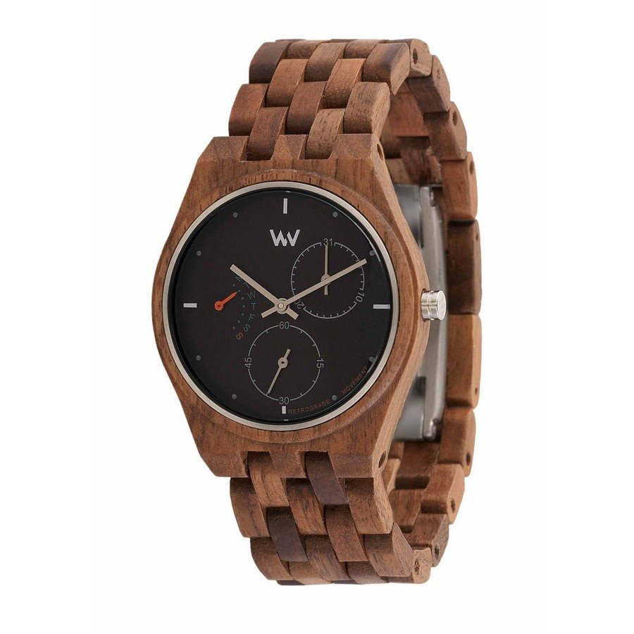 photo Orologio in legno RIDER NUT BLACK