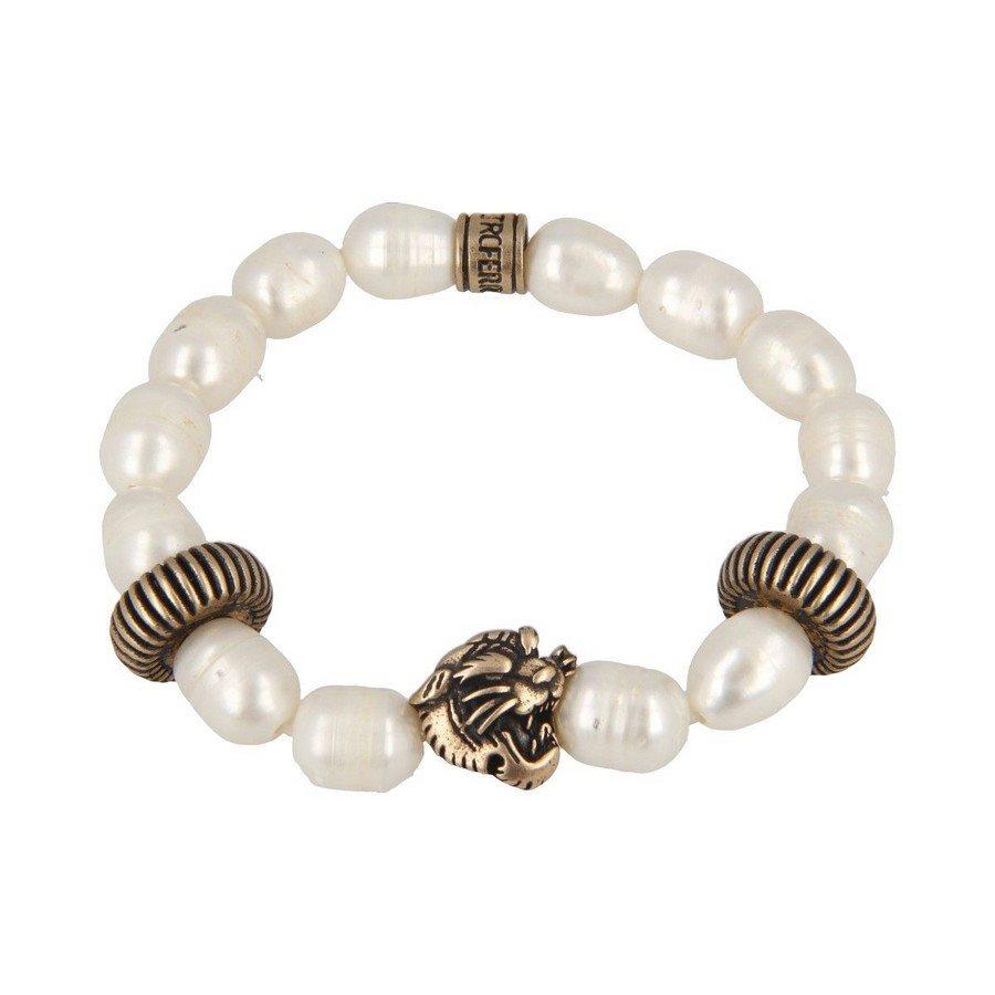 Bracciale Perla Barocca Tigre - Donna