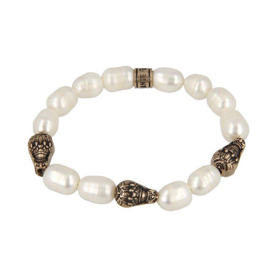 Bracciale Perla Barocca Tre Mongolfiere - Donna