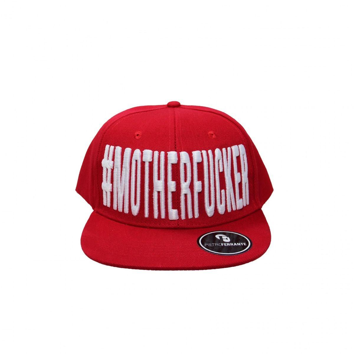 Cappello #MotherFucker - Rosso