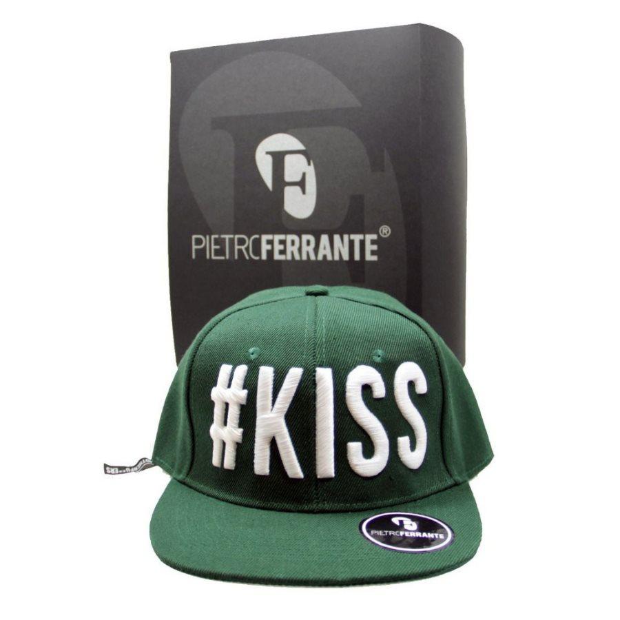 Cappello #Kiss - Verde