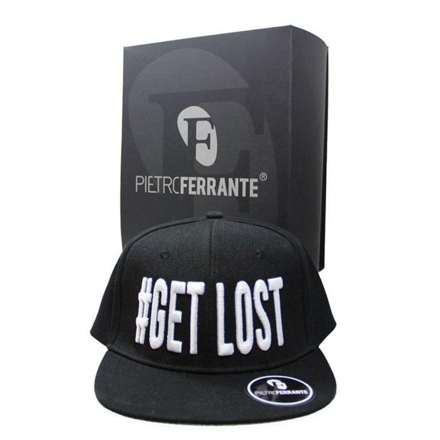 Cappello #Get Lost - Nero