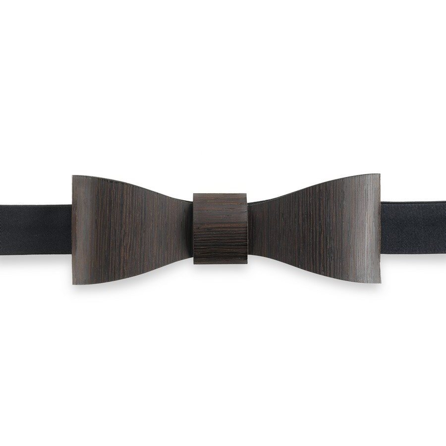 photo FRANK BOW TIE WENGE Papillon in legno