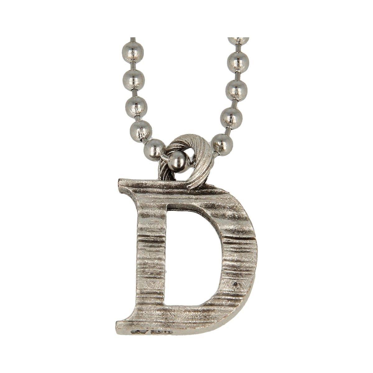 Collana Pendente Lettera Alfabeto -D