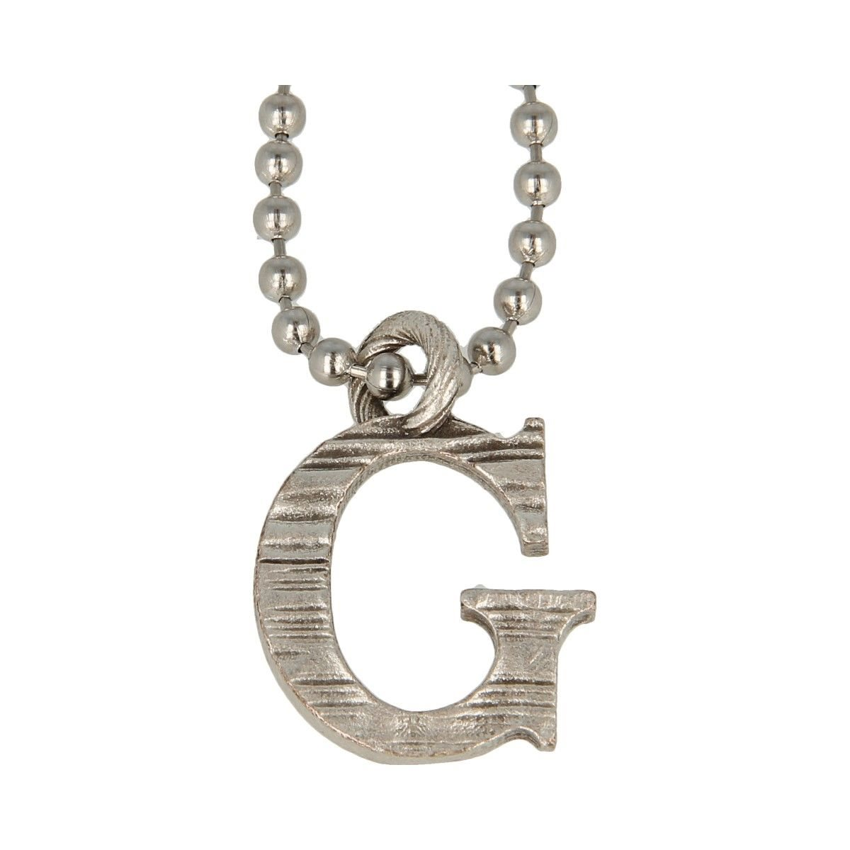 Collana Pendente Lettera Alfabeto -G