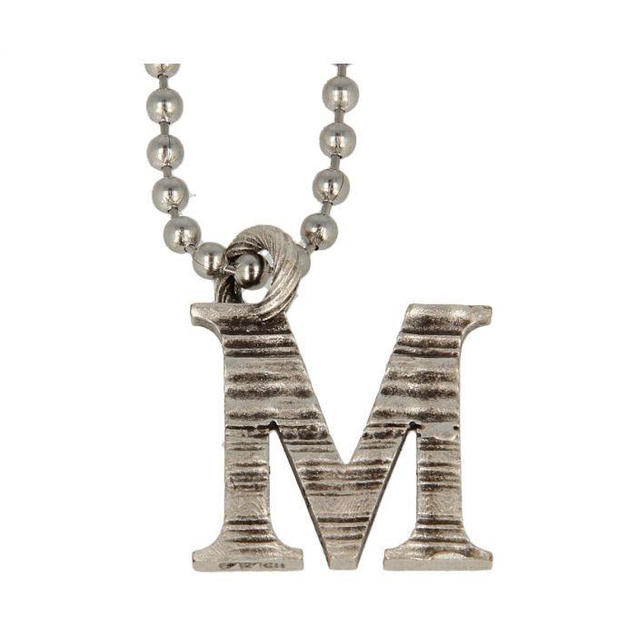 Collana Pendente Lettera Alfabeto -M