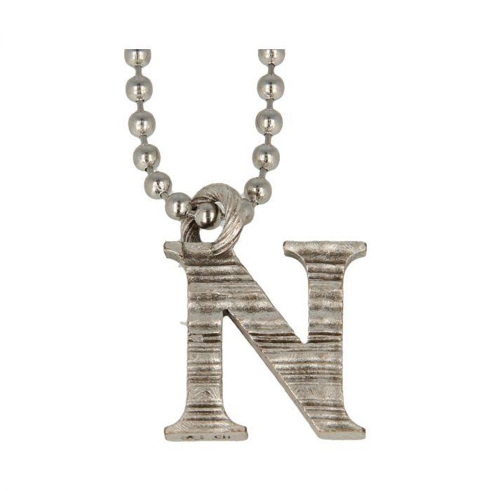 Collana Pendente Lettera Alfabeto -N