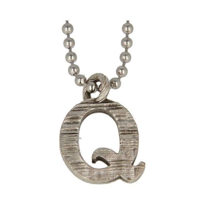 Collana Pendente Lettera Alfabeto -Q