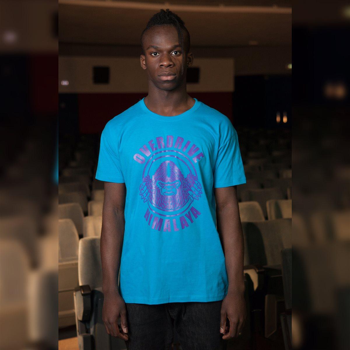 T-shirt Yeti Viola - Taglia XL