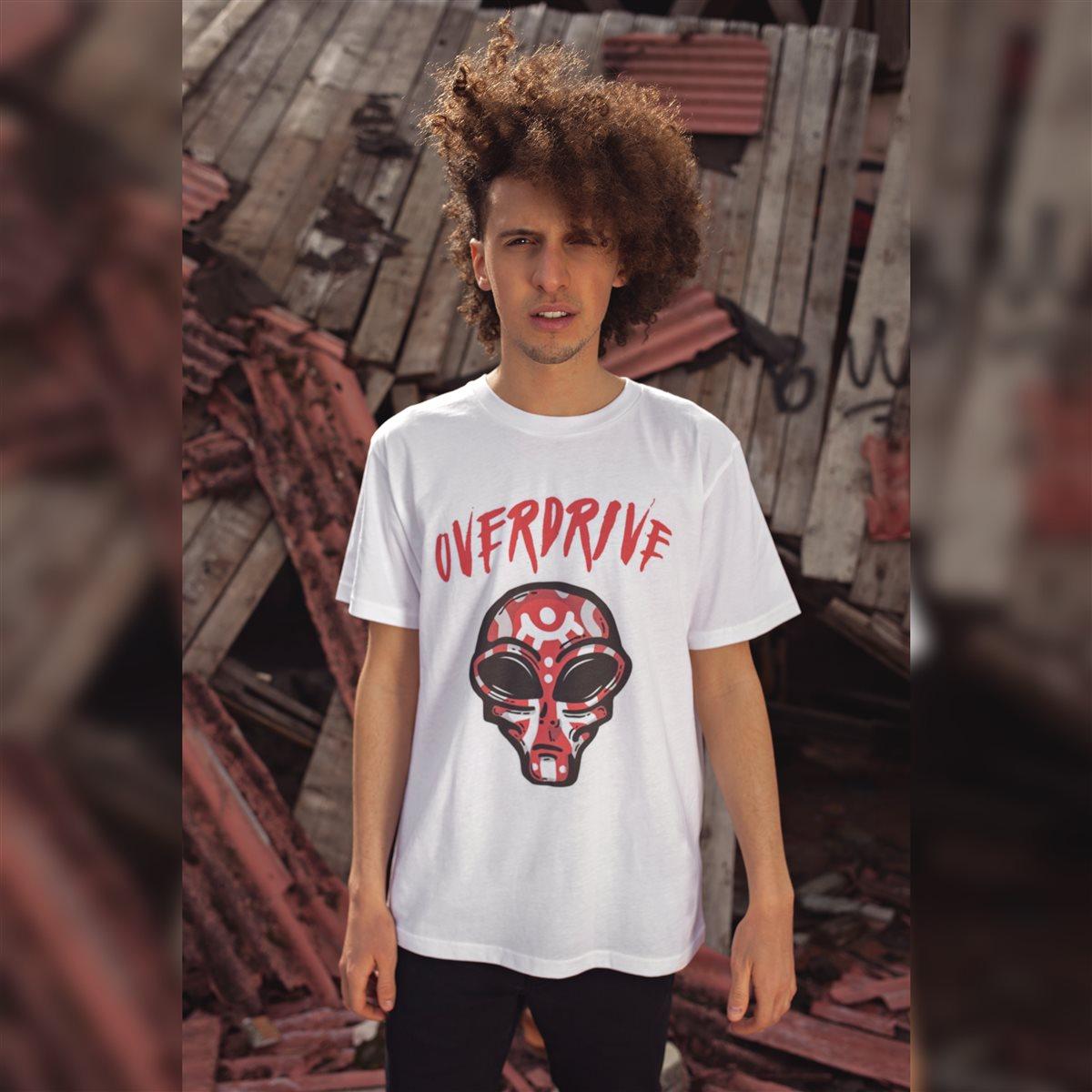 T-shirt Alieno Bianca - Taglia XXL