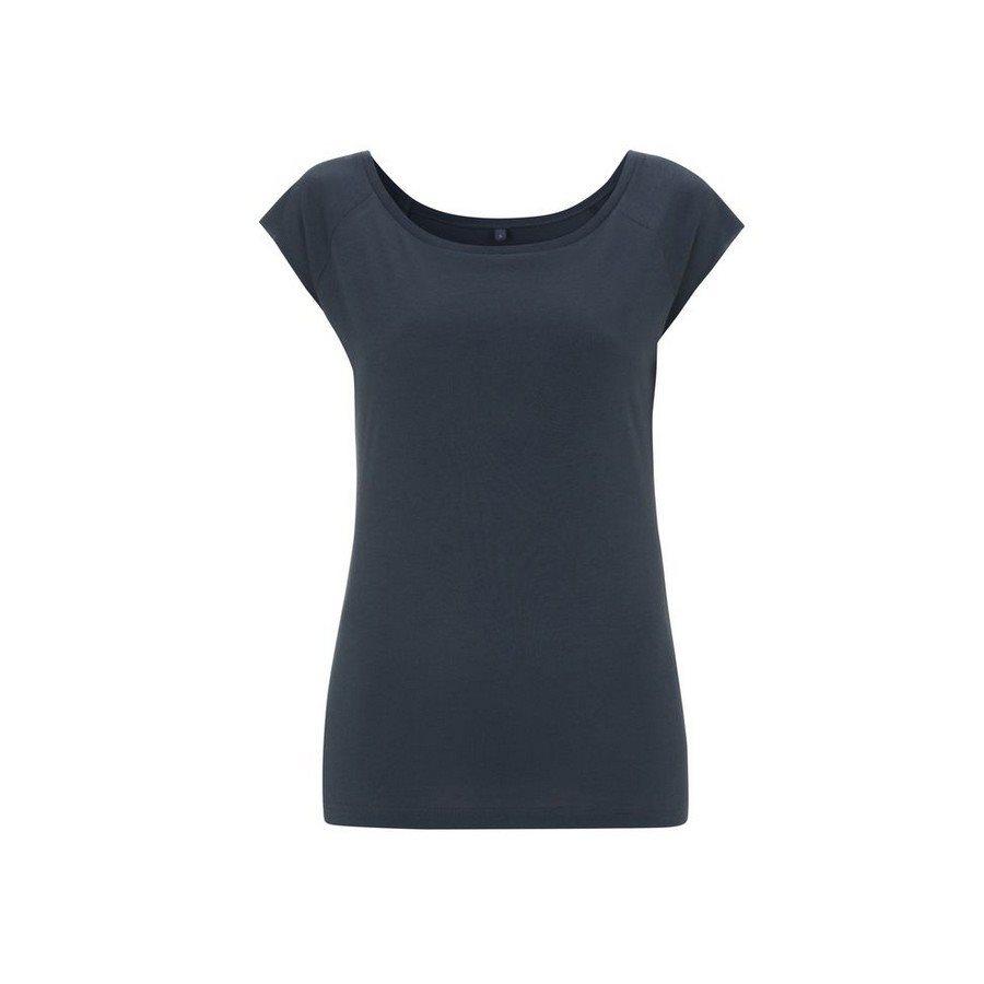 T-shirt Bamboo Raglant Denim - Taglia L