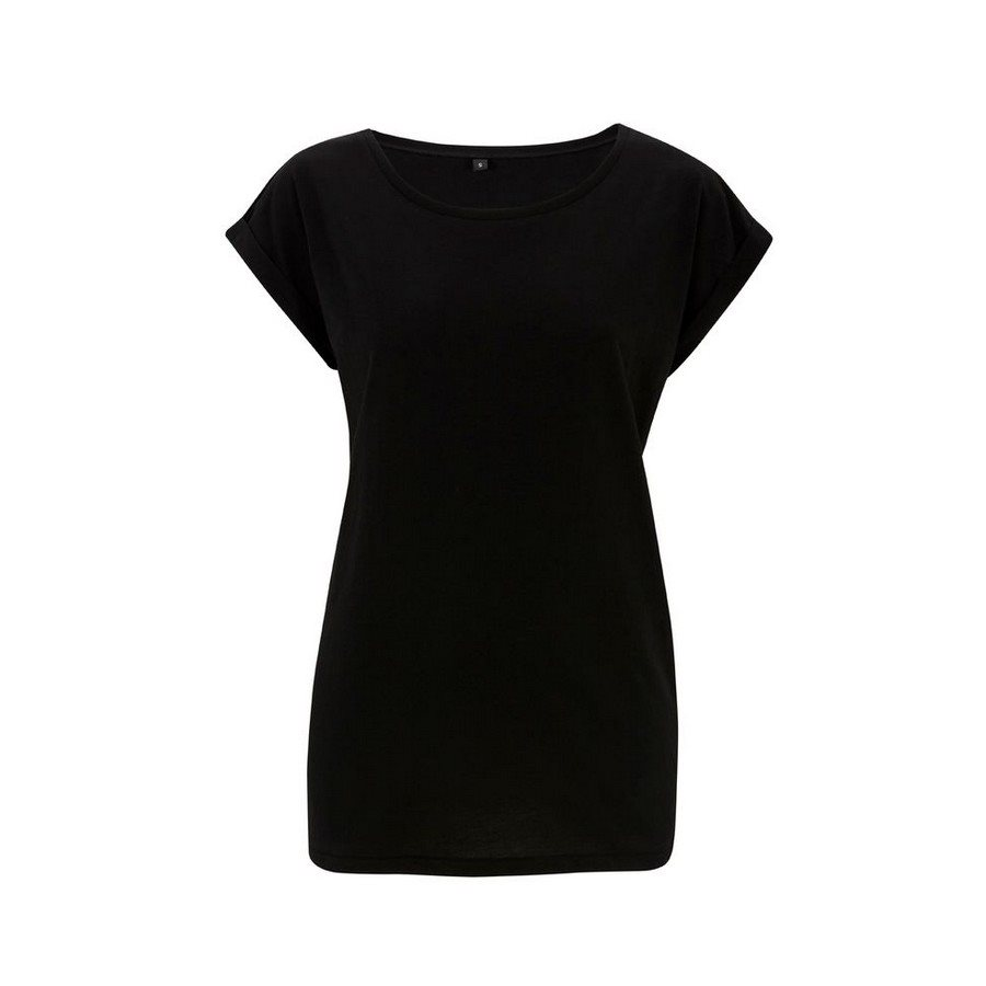 T-shirt Bamboo Tunica Black - Taglia L