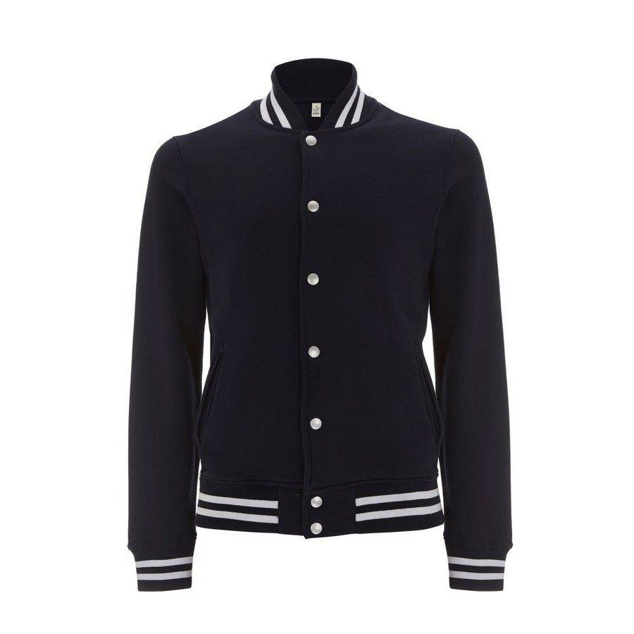 Felpa Varsity Jacket Navy/White Stripes s  - Taglia S