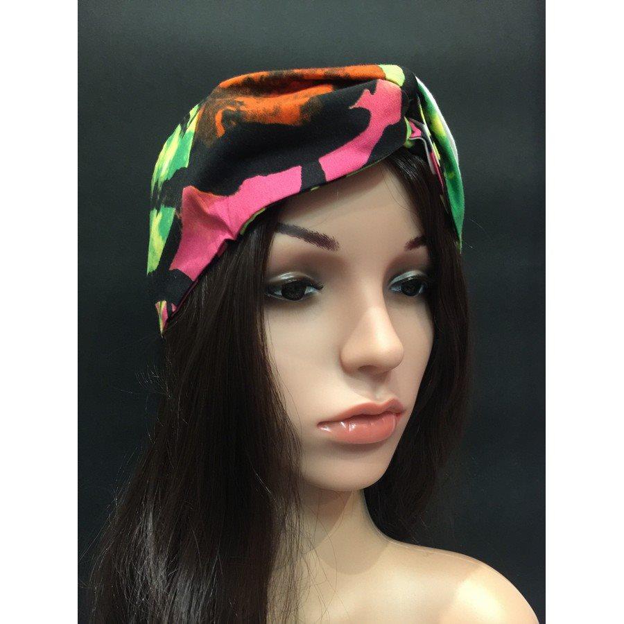 Fascia per capelli Africa 01