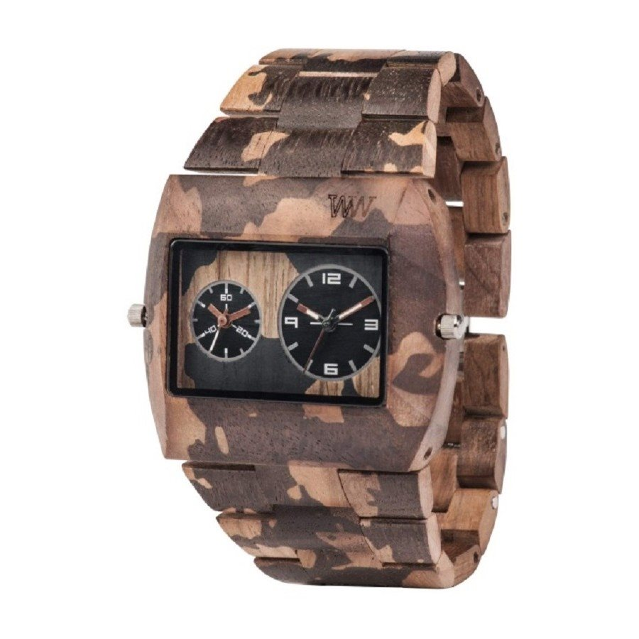 photo JUPITER NATURE CAMO NUT Orologio in legno