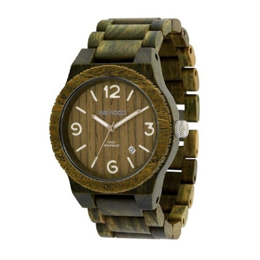 photo ALPHA ARMY Orologio in legno