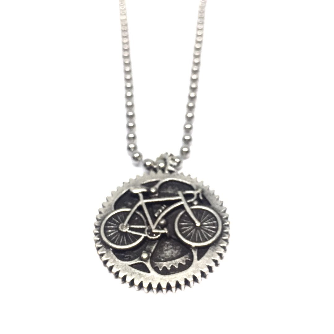 Necklace15 Collana Bicicletta