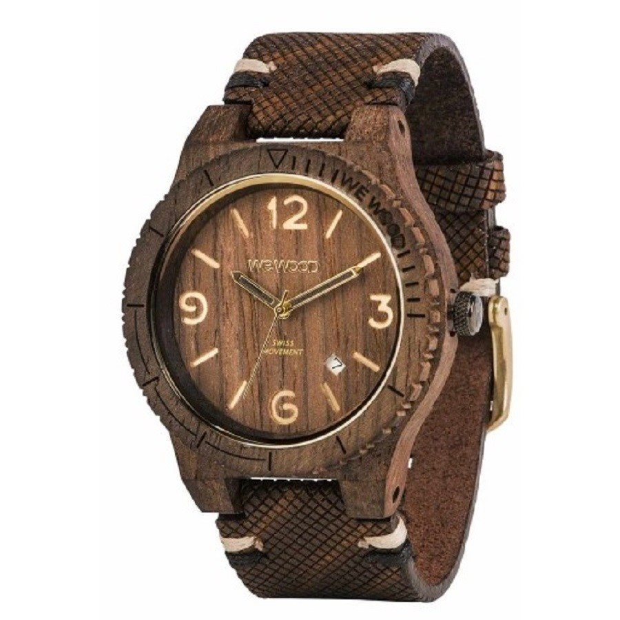 photo ALPHA SW CHOCO ROUGH Orologio in legno