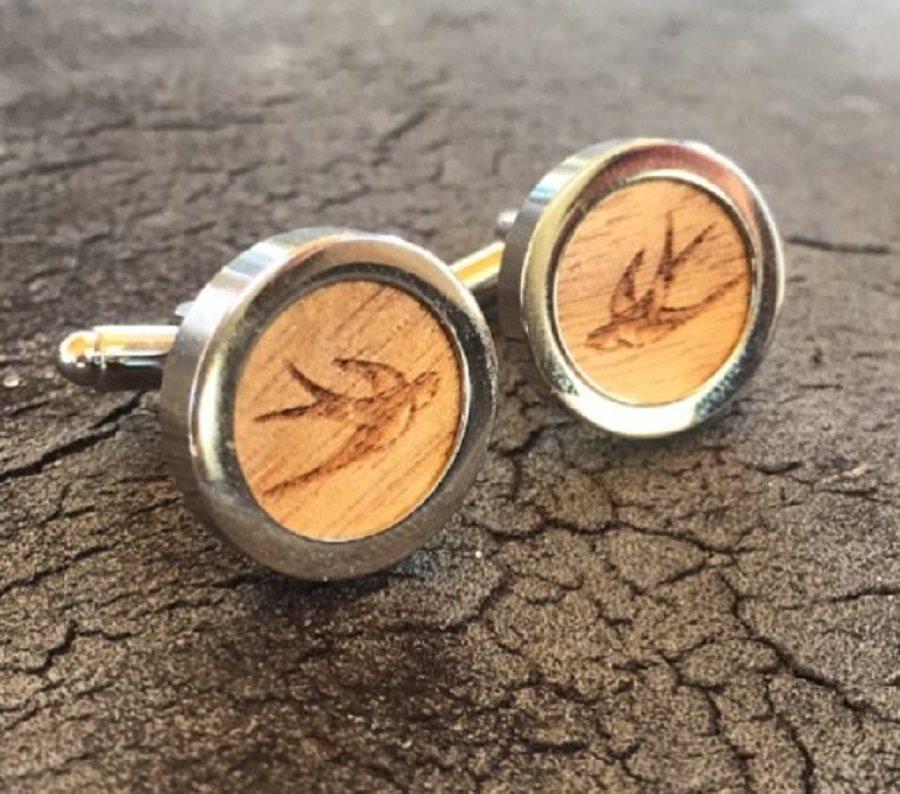 SWALLOW Gemelli in legno