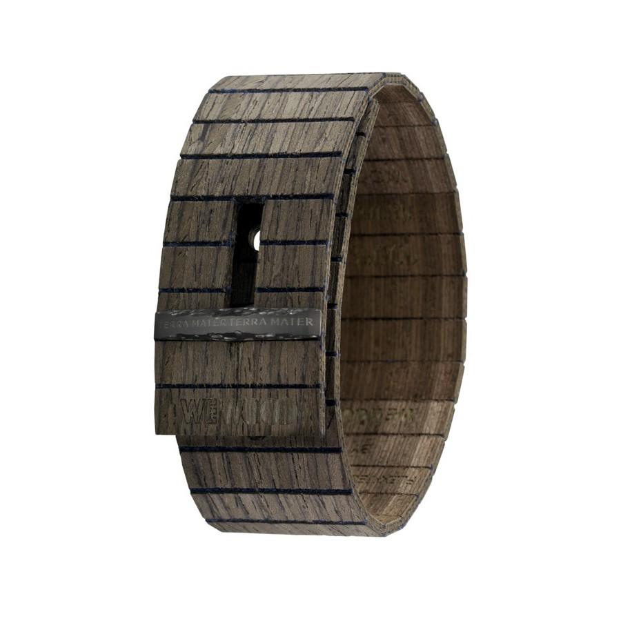 photo Bracciale in legno GEA BLACK CHOCO GUN