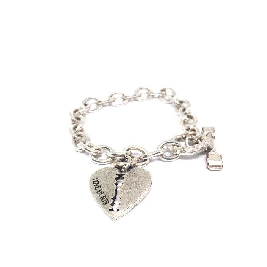 photo Bracelet32 Bracciale Cuore Serratura