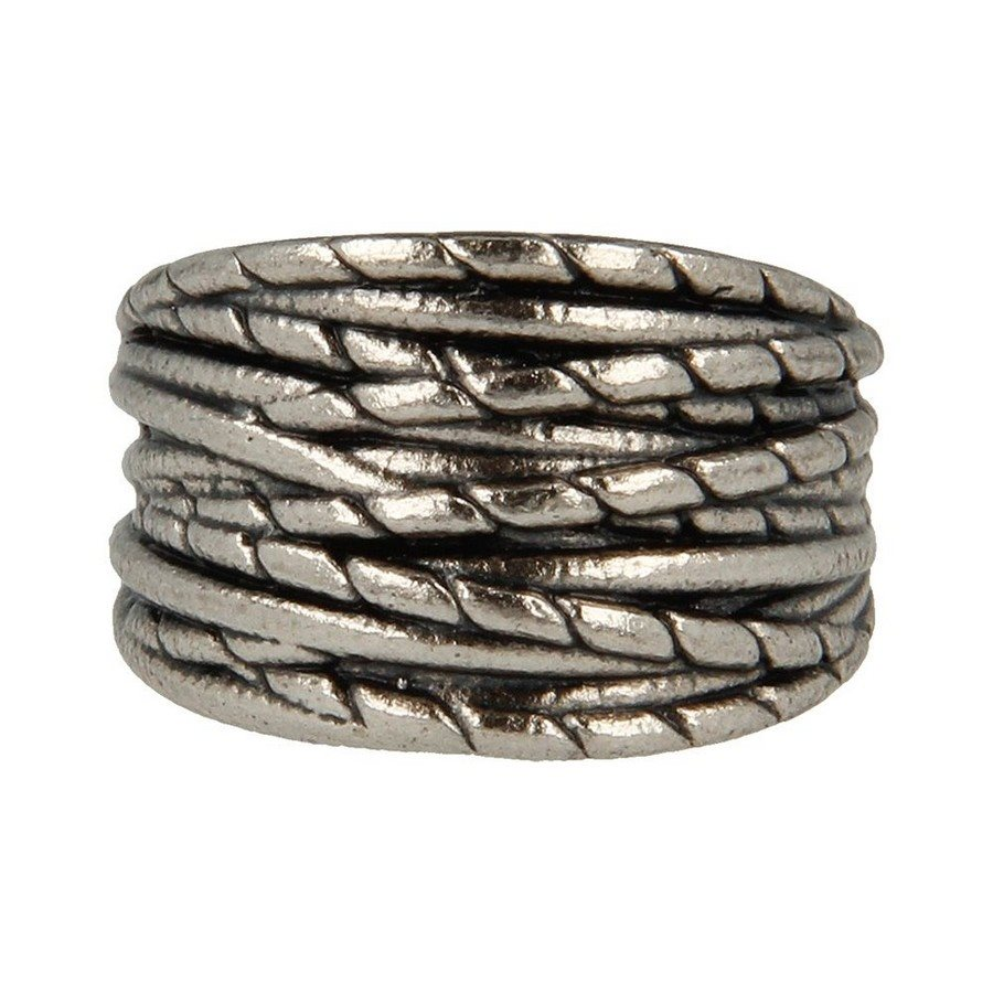 Anello argento 925 intrecciato - taglia L