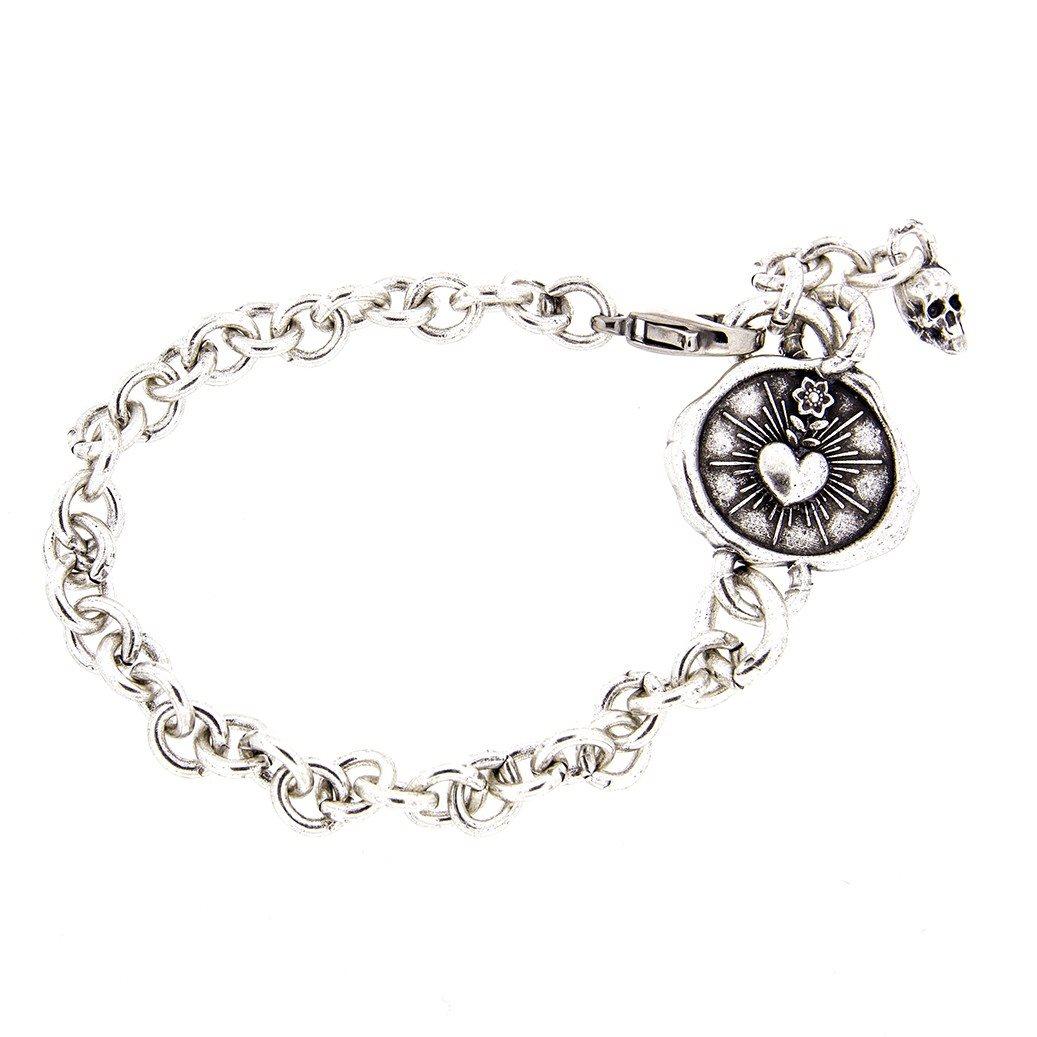 Bracelet20 Bracciale sacro cuore
