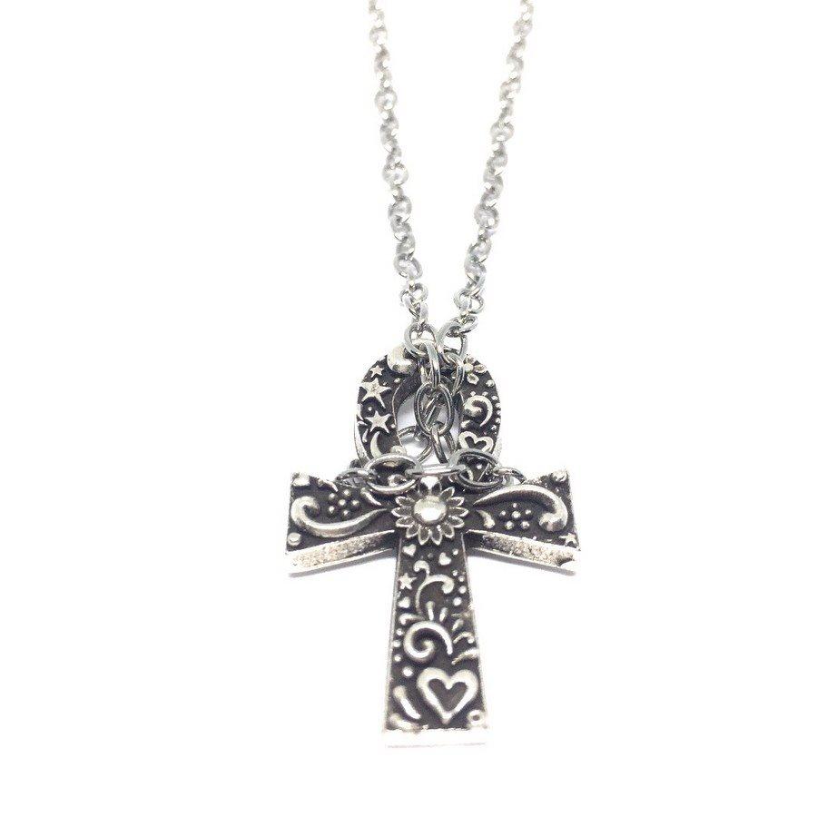 Collana Croce Ansata