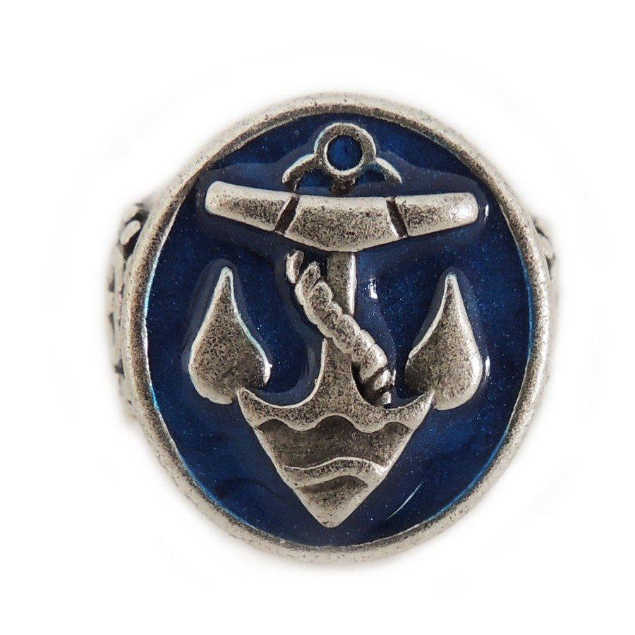 Ring 21 Anello Polished Ancora - taglia XL