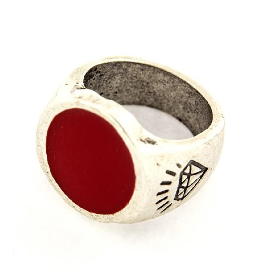 Ring 41 Anello Zama Rosso - Taglia xs