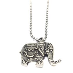 Necklace05 Collana Elefante