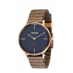 WeWOOD Orologio in legno ALBACORE ROSE BLUE APRICOT