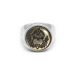Anello Heart Tatoo - Taglia S