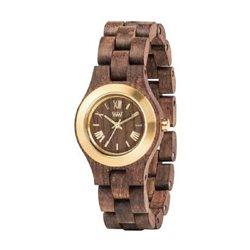 WeWOOD  CRISS MB CHOCO GOLD - Orologio in legno