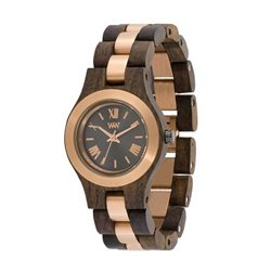 CRISS ME CHOCO ROUGH ROSE Orologio in legno
