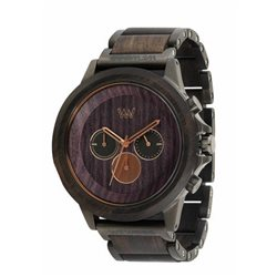 ETHERUM BLACK GUN ROSE Orologio in legno
