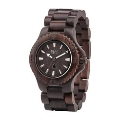 WeWOOD DATE CHOCOLATE Orologio in legno
