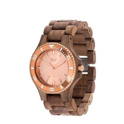 WeWOOD DATE MB NUT ROUGH ROSE Orologio in legno